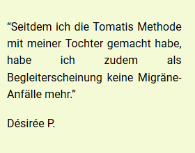 Erfahung Tomatis Therapie Köln