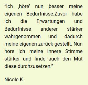 Referenz Nicole 1